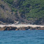 Playa de Arra desde el mar