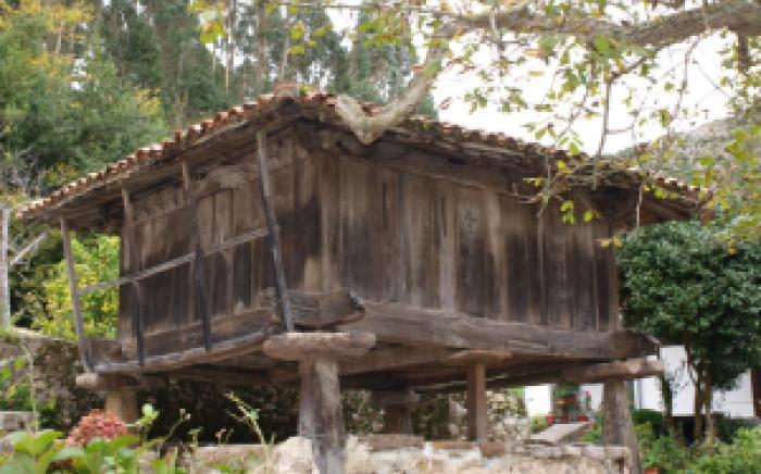 Hórreos en Ribadesella